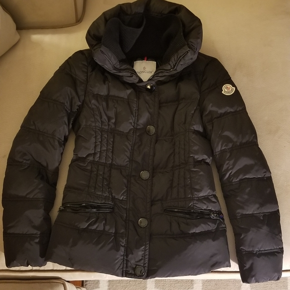 Moncler Jacken : Moncler New Schwarz Vosges Down damen NO